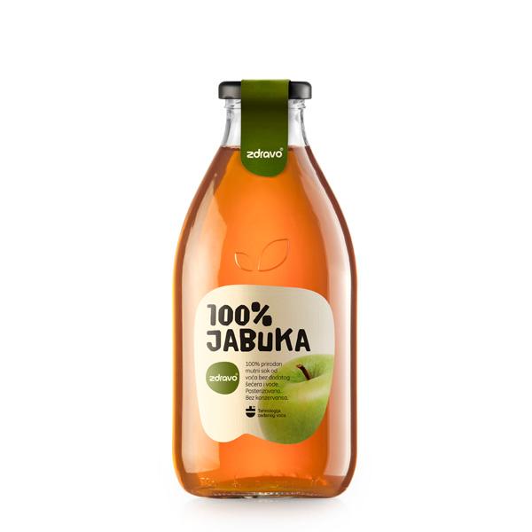 Obuolių sultys ZDRAVO, 750 ml