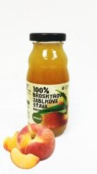 Persikų ir obuolių sultys ZDRAVO, 200 ml