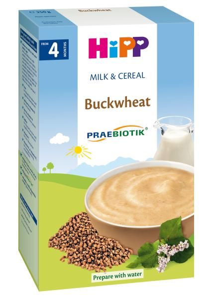 Pieniška grikių košė HIPP (nuo 4mėn.), 250 g