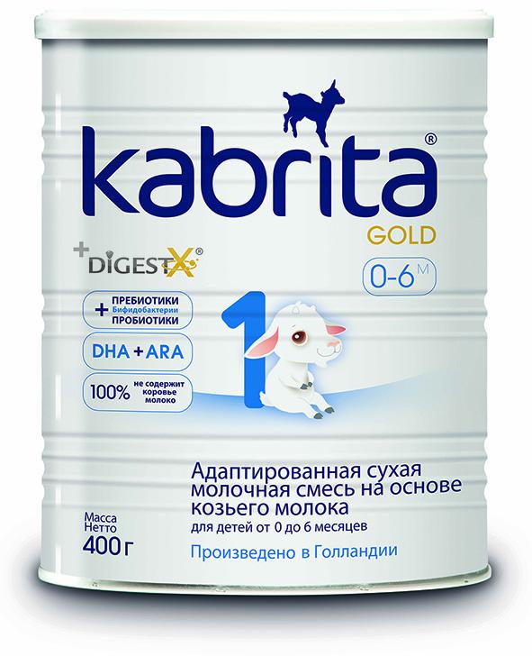 Pieno mišinys OŽKOS PIENO PAGRINDU, skirtas kūdikiams nuo gimimo, Kabrita 1 Gold, 400 g