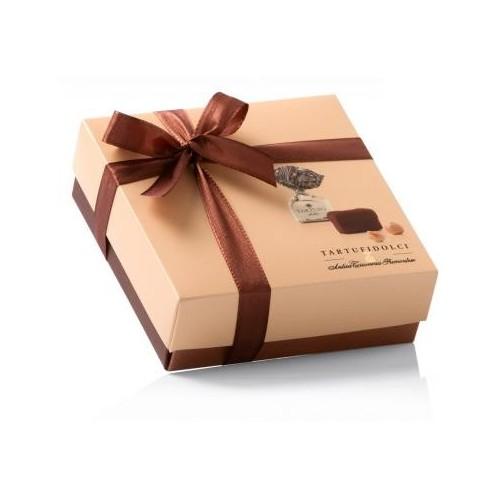 Šokoladinių triufelių dežutė TARTUFI I Dolce Colore Nero, 125 g