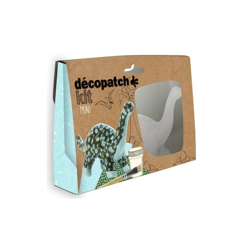 Mini dekupažo rinkinys DECOPATCH Dinozauras vaikams nuo 6 metų