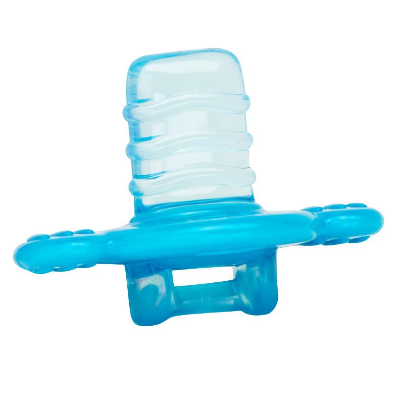 Masažuojantis mėlynas kramtukas-čiulptukas DR.BROWN'S nuo 3 mėn.