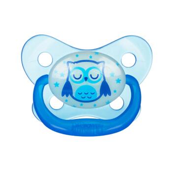 Naktį šviečiantis mėlynas čiulptukas PreVent DR.BROWN'S Butterfly nuo 12 mėn.
