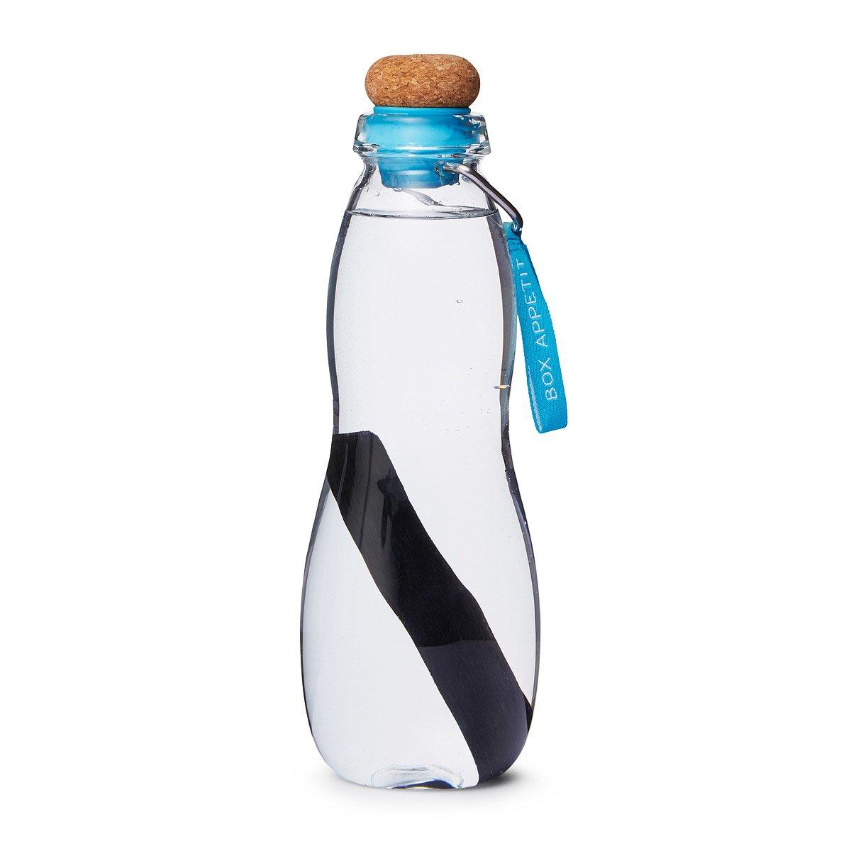 Gertuvė vandeniui su aktyvios anglies filtru BLACK + BLUM mėlyna, 1 vnt.