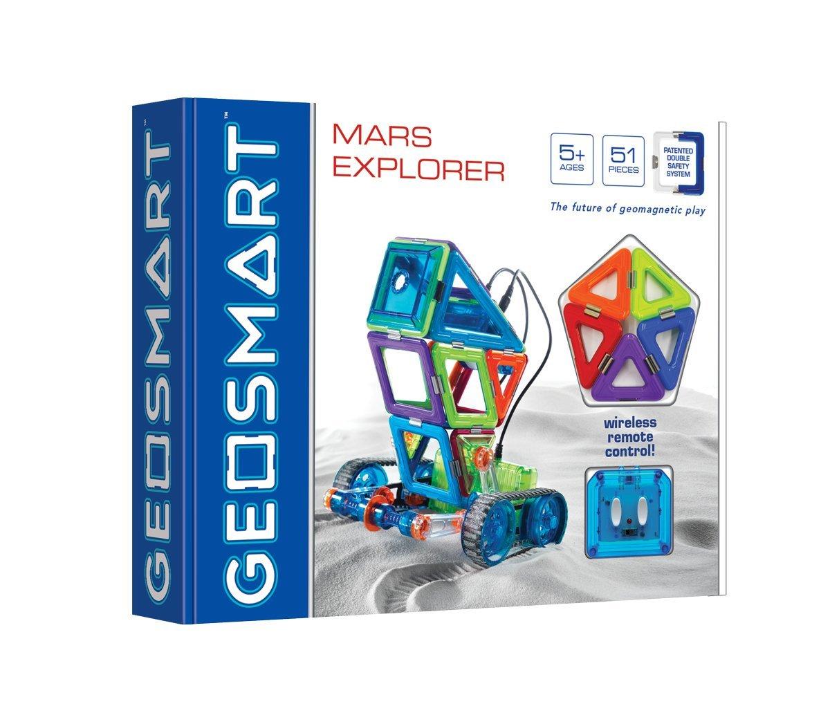 Magnetinis konstruktorius GEOSMART Mars Explorer vaikams nuo 5 metų (GEO 302)