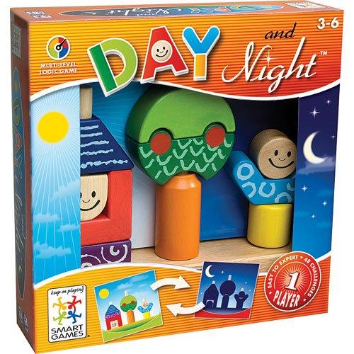 Loginis žaidimas SMART GAMES Day & Night NEW vaikams nuo 2 metų (SG 033)