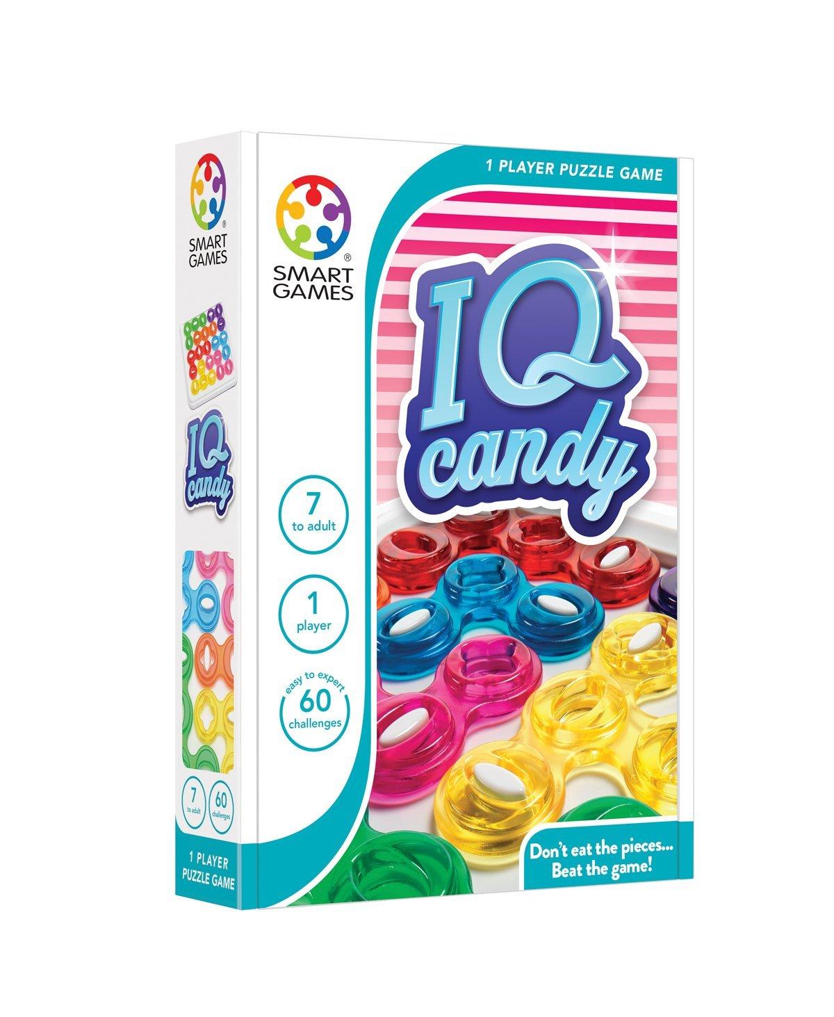 Loginis žaidimas SMART GAMES IQ Candy NEW vaikams nuo 6 metų (SG 438)