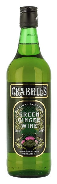 Imbierinis vynas Crabbies Green Ginger Wine 13,5%, 0,7l