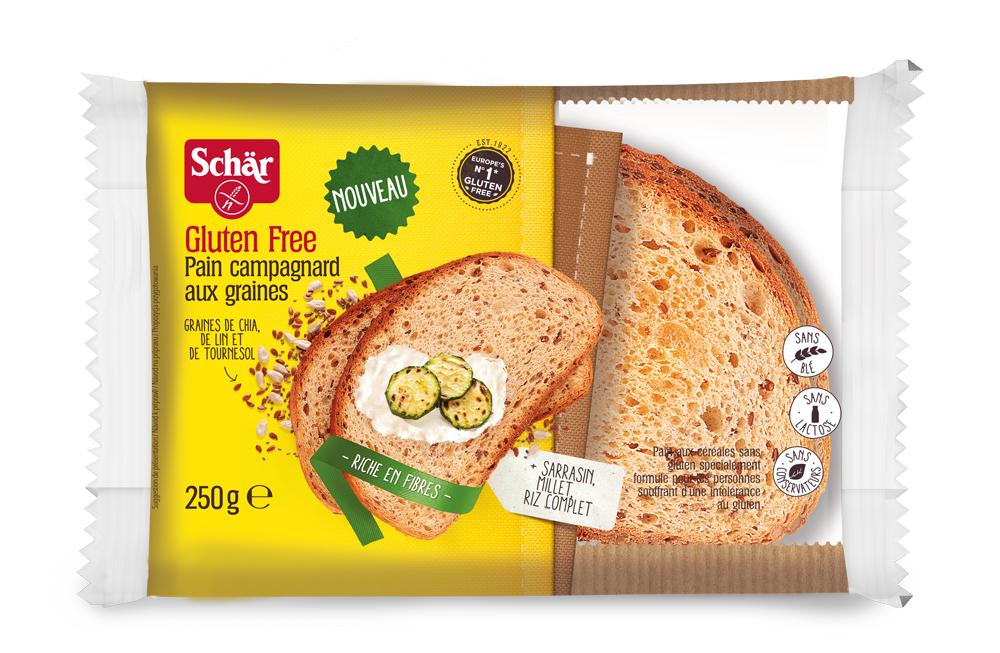 SCHAR grūdėta duona campagnard, 250g