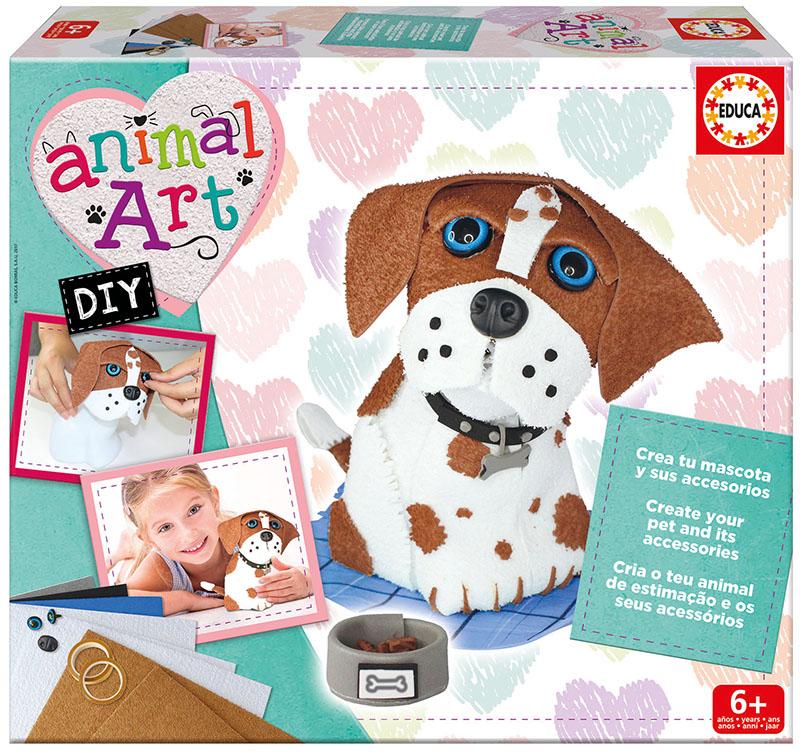 Šuniukas EDUCA ANIMAL ART vaikams nuo 6 metų (17421)
