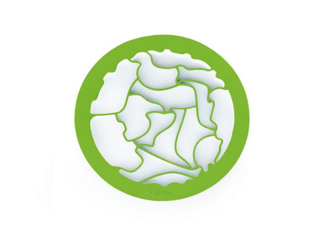 Sausainių kepimo forma (žalia) LEKUE Puzzle, 1 vnt.