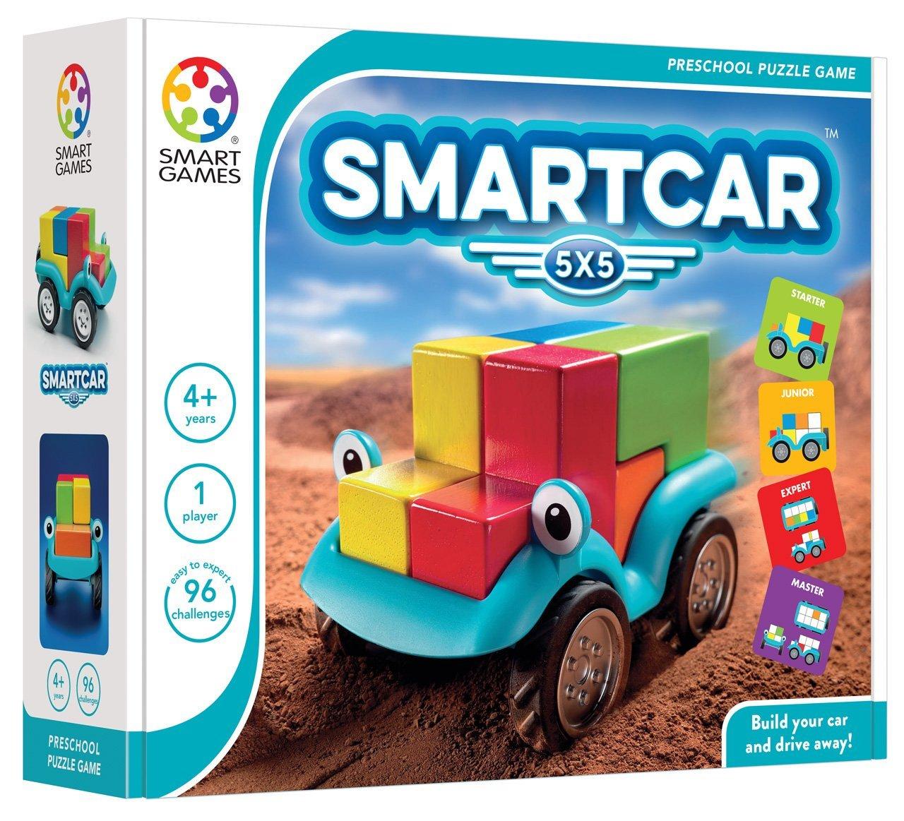 Loginis žaidimas SMART GAMES Smart Car 5×5 vaikams nuo 3 metų (SG 018)