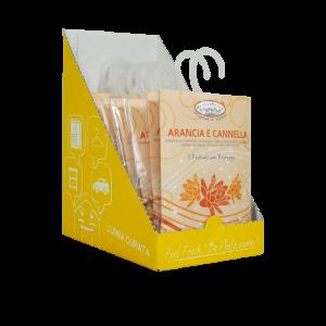 Aromatizuotas pakelis, Apelsinų ir cinamono kvapo HygienFresh, 13 gr.