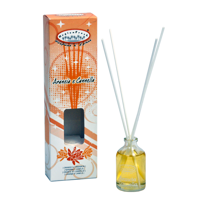 Kvapniosios lazdelės, Apelsinų ir cinamomo kvapo, HygienFresh, 50 ml