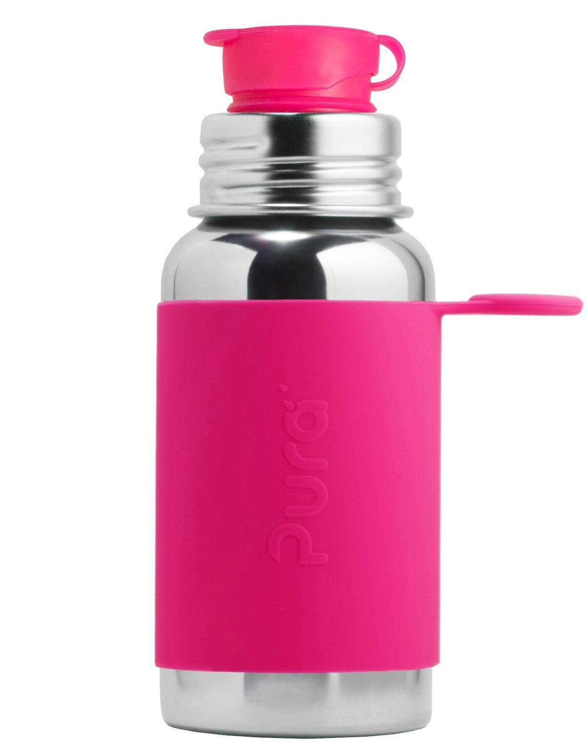 Rožinė sportinė gertuvė PURA KIKI, 550 ml