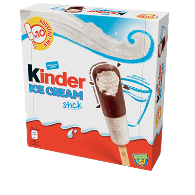 Ledai KINDER Bueno Stick 10vnt, 360ml