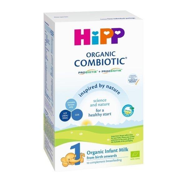 Ekologiškas pradinis pieno mišinys HIPP 1 COMBIOTIC (nuo gimimo), 300 g