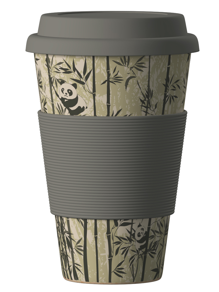 Bambukinis puodelis Panda