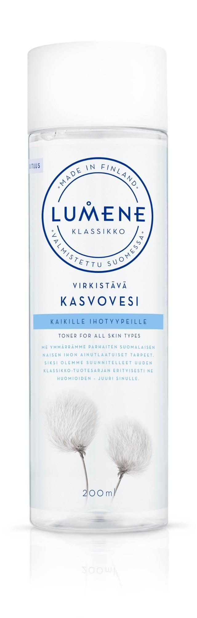 Gaivinamasis tonikas LUMENE KLASSIKKO, 200 ml
