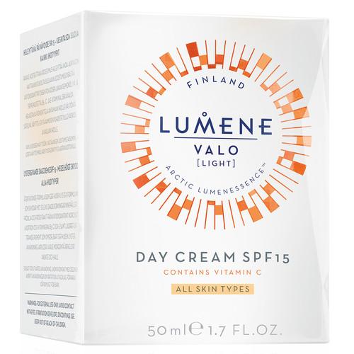 Drėkinamasis kremas SPF15 LUMENE VALO Vitamin C, 50 ml