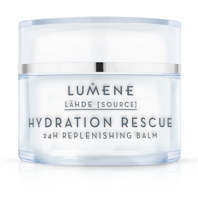 Drėkinantis balzamas LUMENE LÄHDE Hydration Rescue, 50 ml