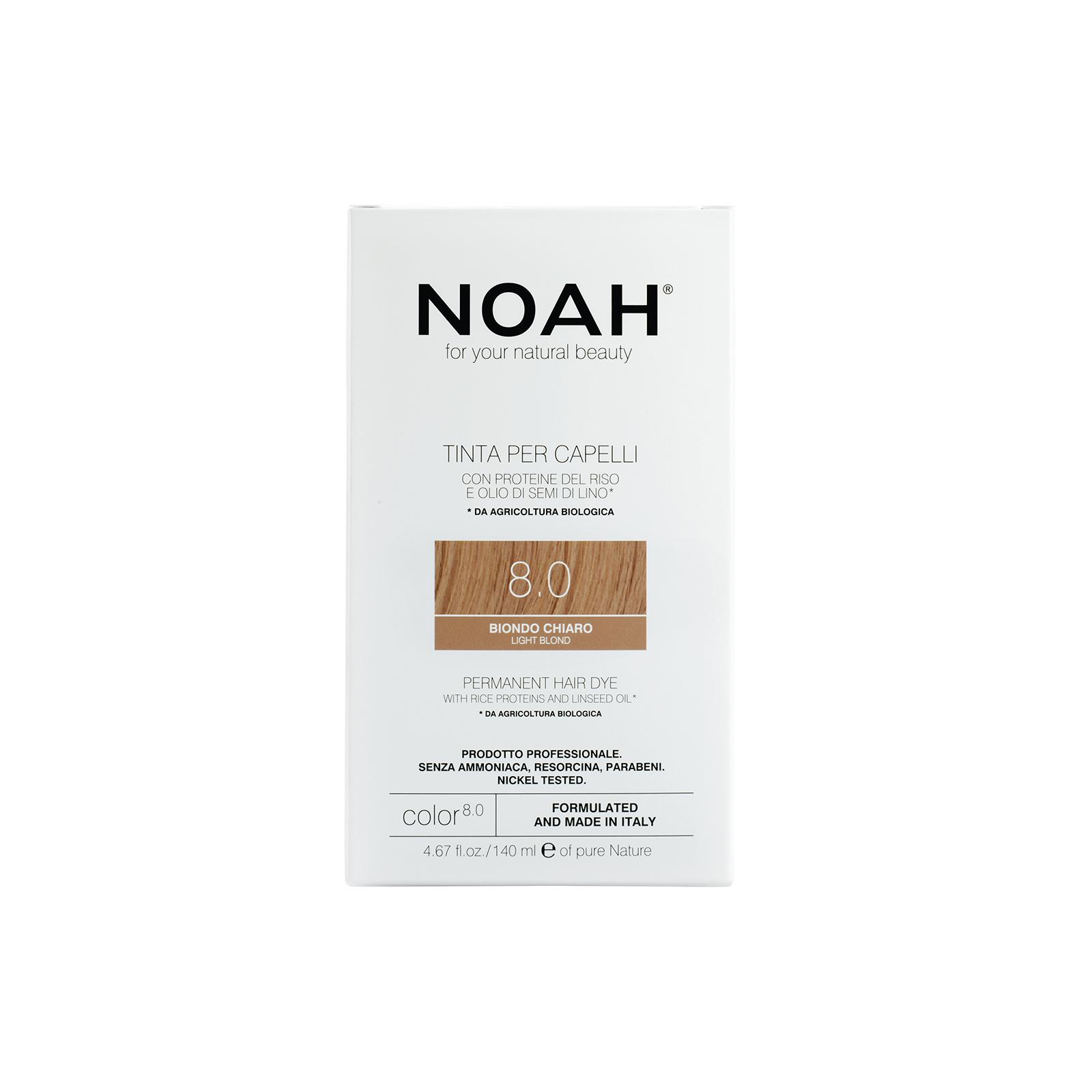 Plaukų dažai NOAH (8.0 šviesi blondinė), 140ml
