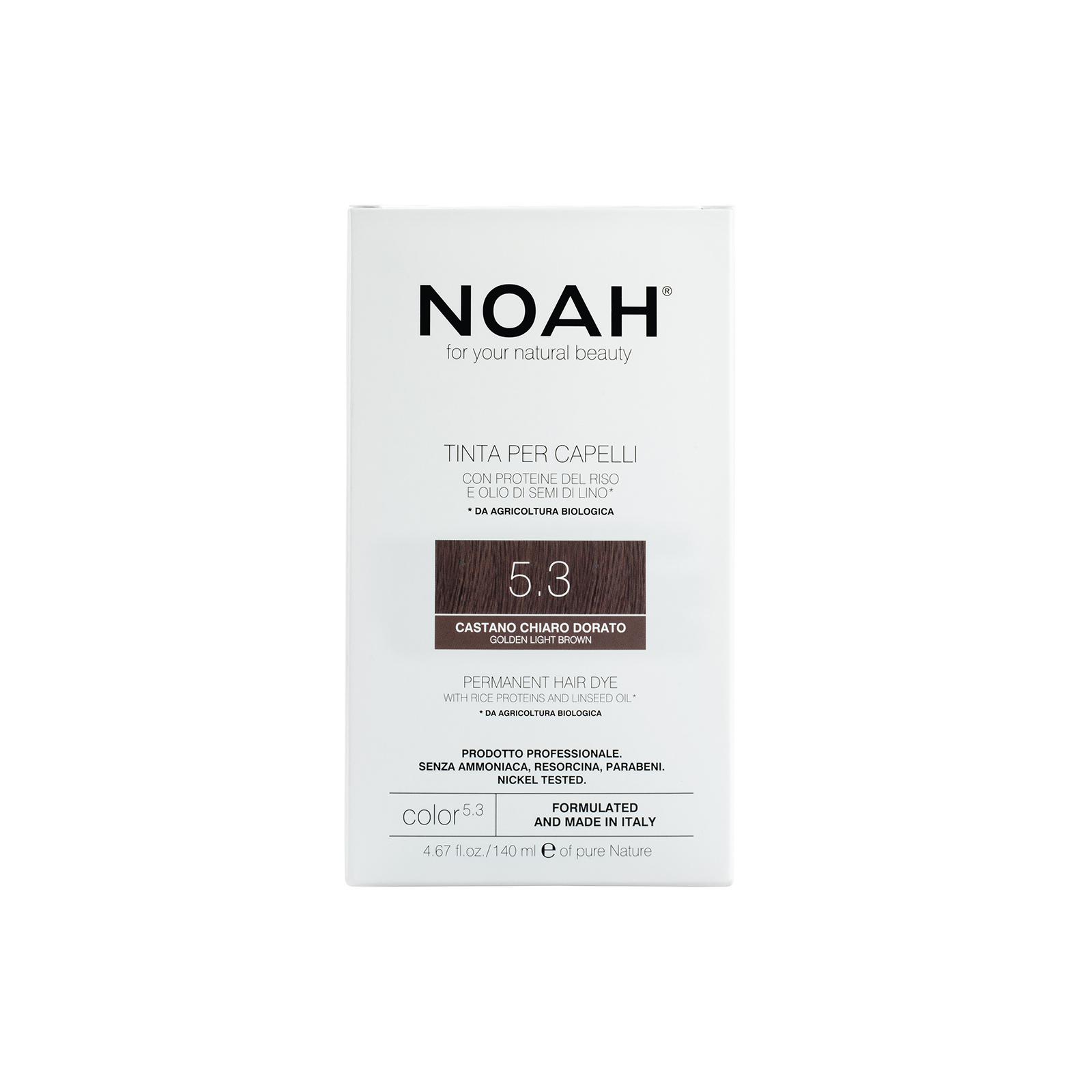 Plaukų dažai NOAH (5.3 auksinė ruda), 140ml