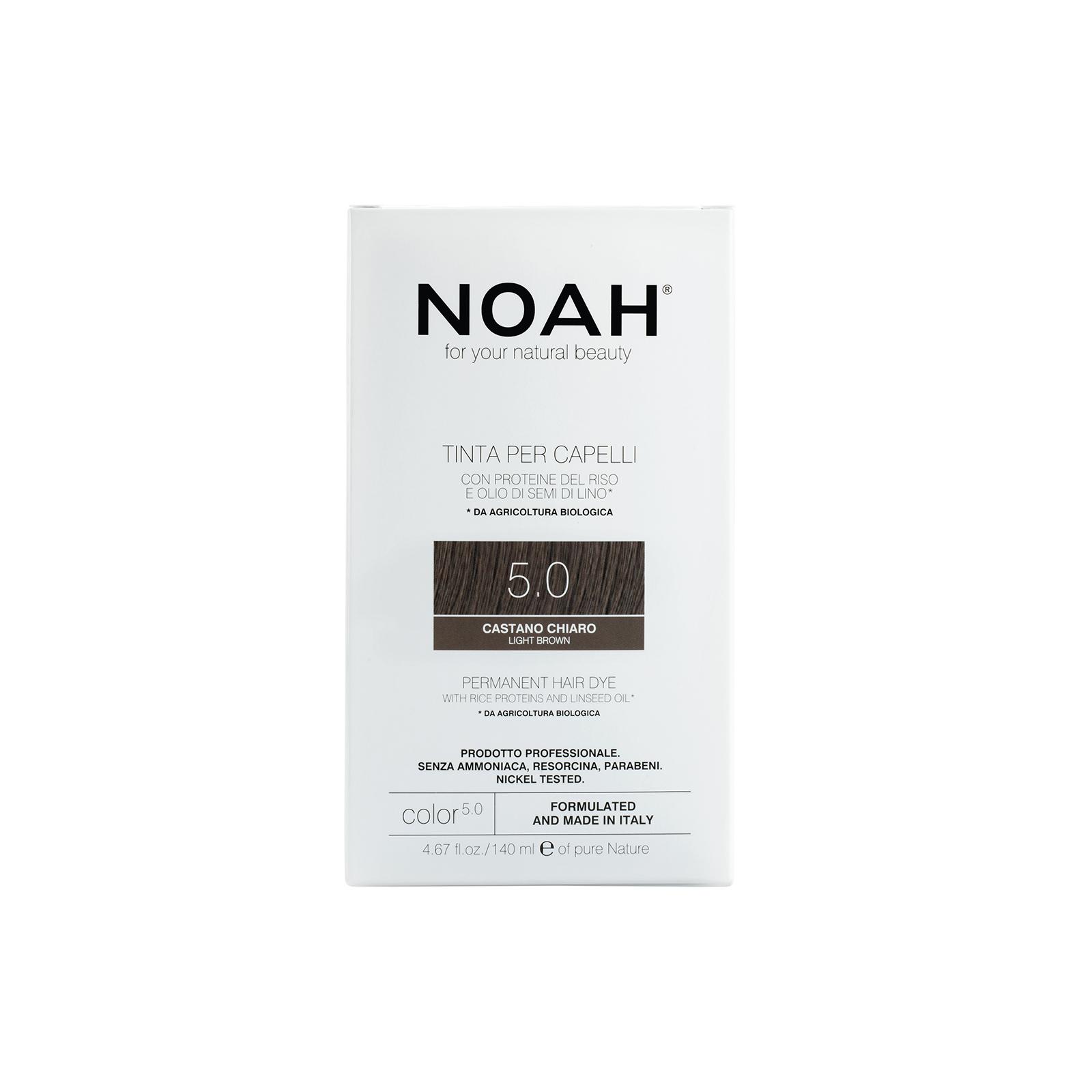 Plaukų dažai NOAH (5.0 šviesiai ruda), 140ml