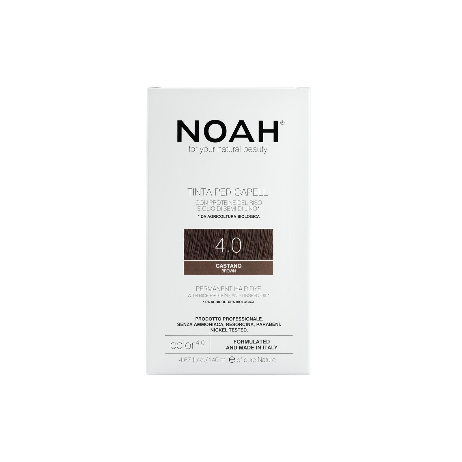 Plaukų dažai NOAH (4.0  ruda), 140ml