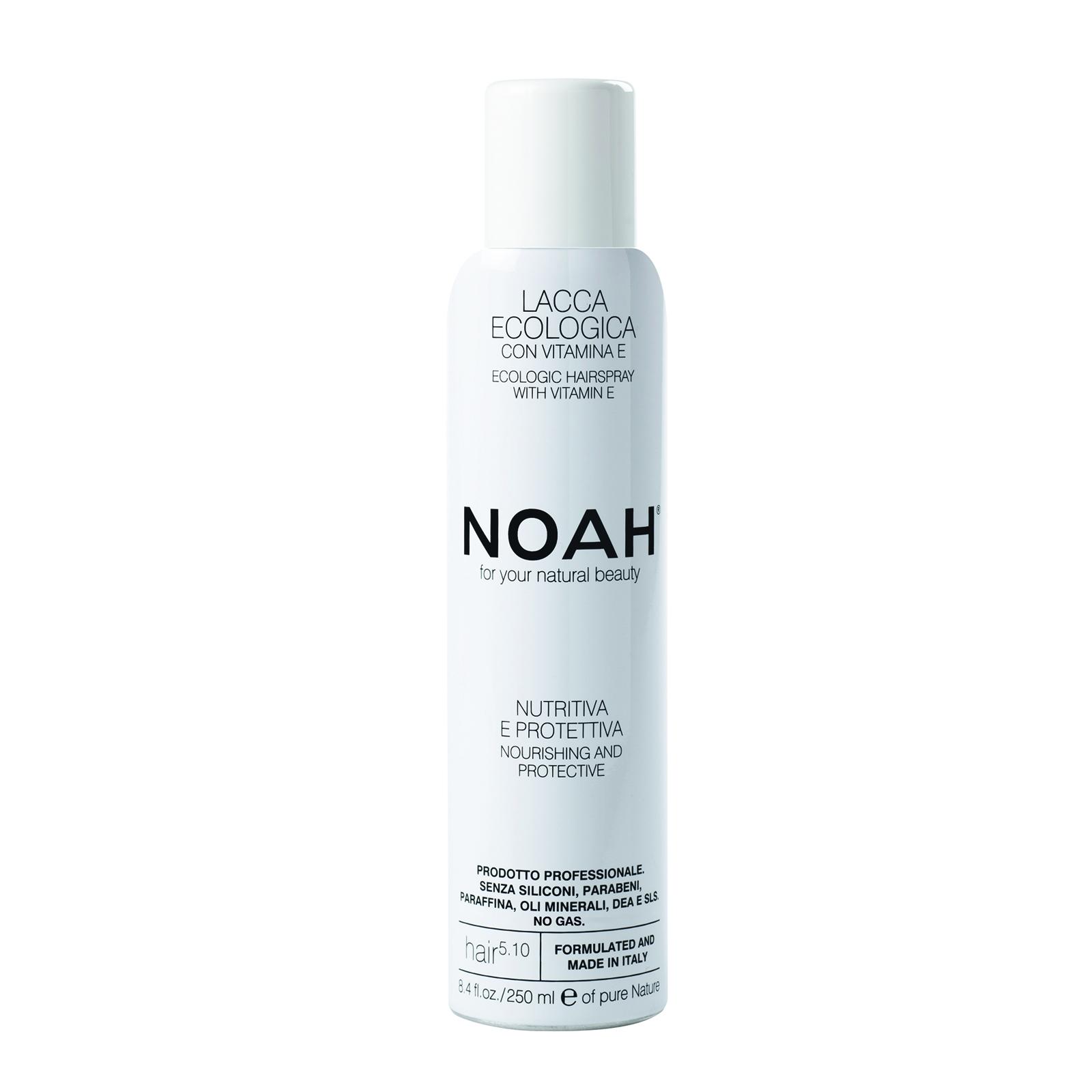 Maitinantis plaukų lakas NOAH su argano aliejumi ir vitaminu E, 250 ml