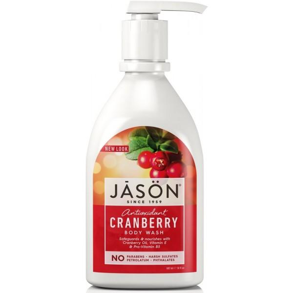 Dušo gelis JASON spanguolių kvapo, 887 ml
