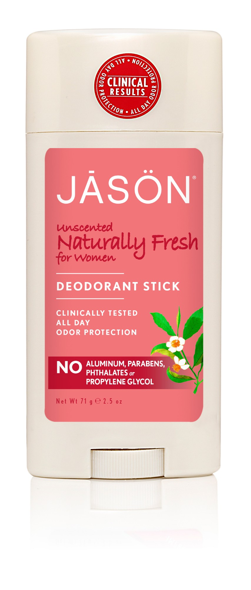 "Sauas dezodorantas  JASON moterims ""Naturally Fresh"", 71 g"
