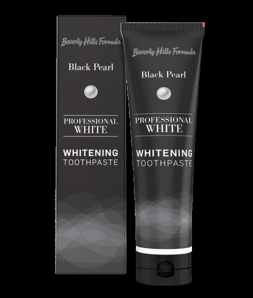 Balinanti dantų pasta BEVERLY HILLS Professional White Black Pearl, 100 ml