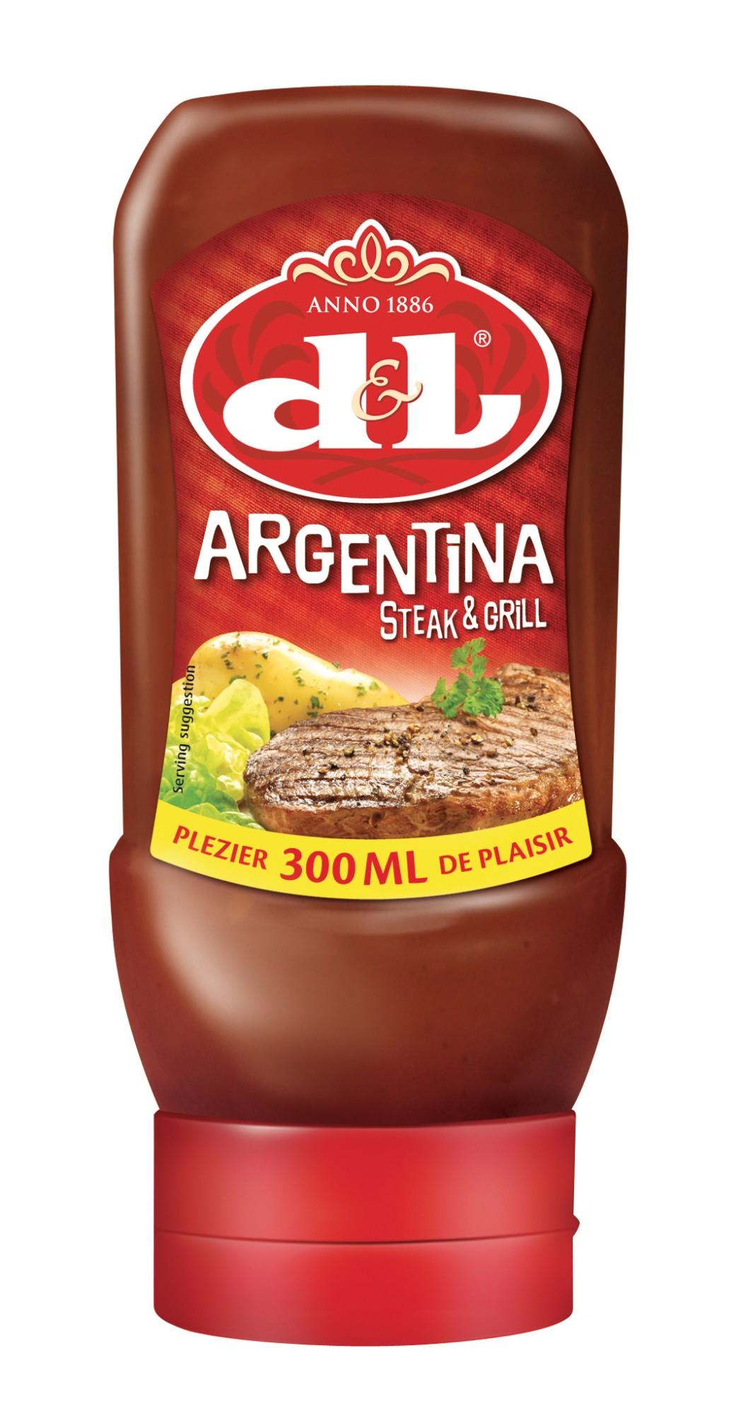 Argentinietiškas kepsnių padažas, D&L, 300ml