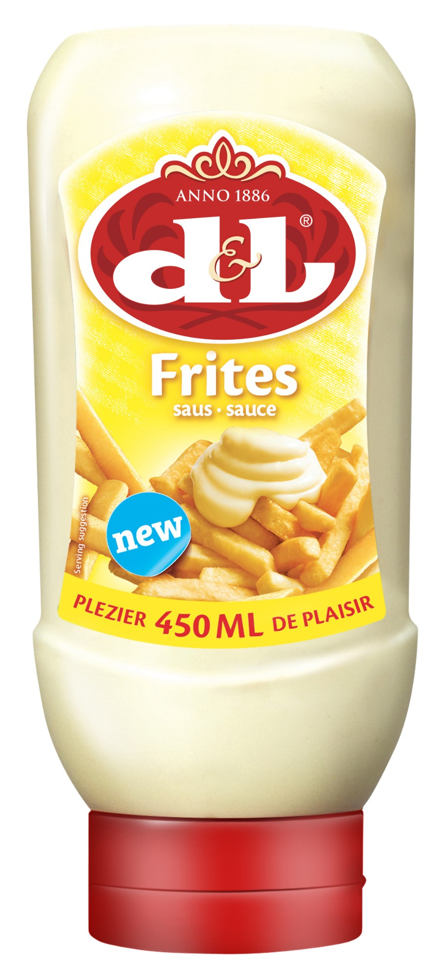 Padažas bulvytėms FRI, D&L, 450ml