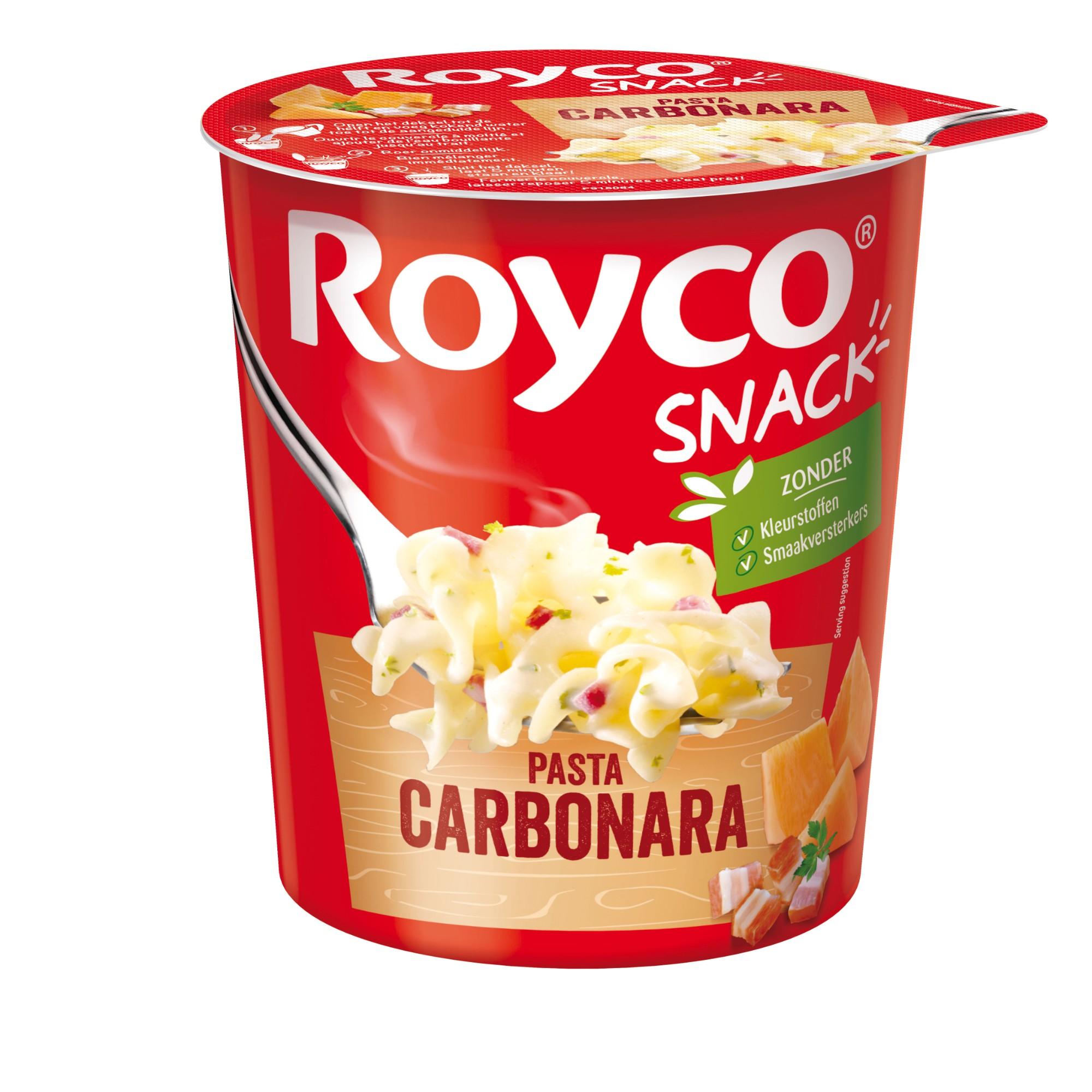 """Greitai paruošiami makaronai """"Carbonara"""", ROYCO, 1 indelis (70g)"""