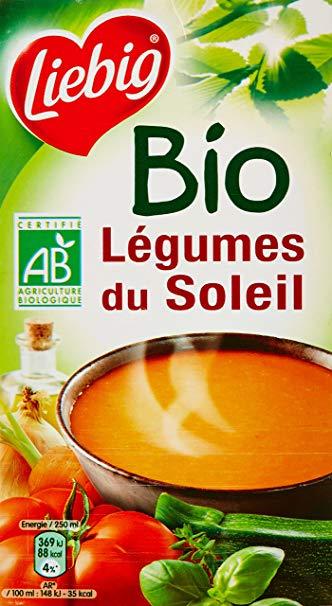 Ekologiška vasaros daržovių sriuba, LIEBIG, 1L