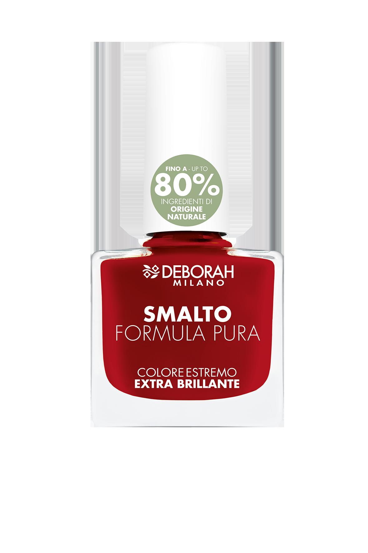 Nagų lakas DEBORAH FORMULA PURA 13 CLASSIC RED, 8,5 ml