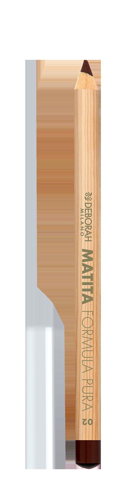 Akių pieštukas DEBORAH FORMULA PURA 02 BROWN, 1,5 g