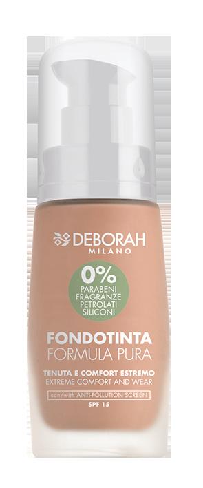 Makiažo pagrindas DEBORAH FORMULA PURA 3 APRICOT, 30 ml