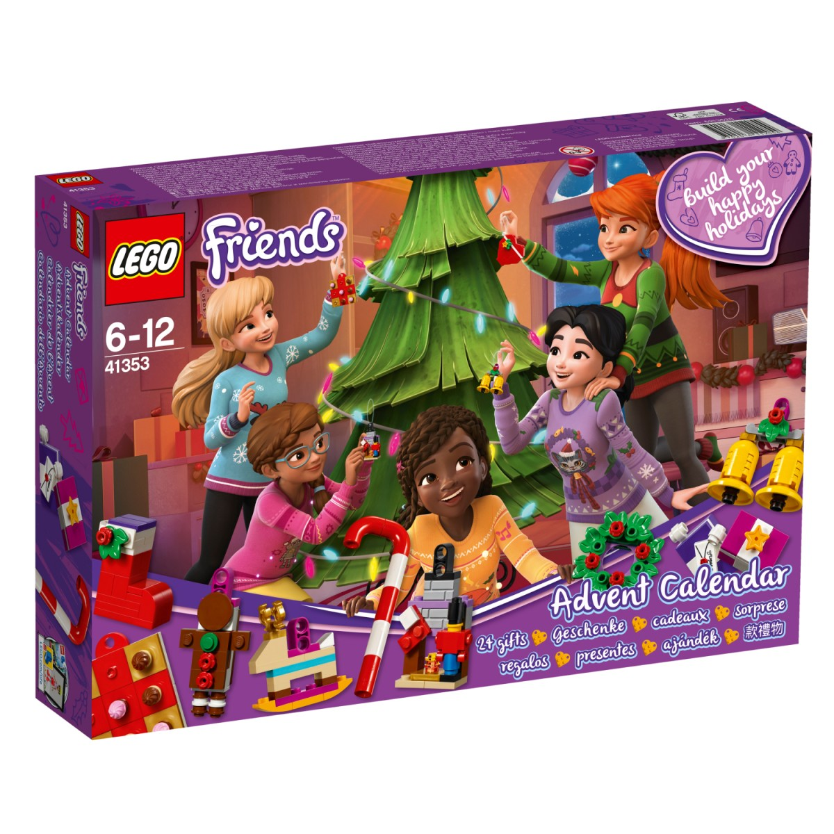 Advento kalendorius LEGO Friends (41353)