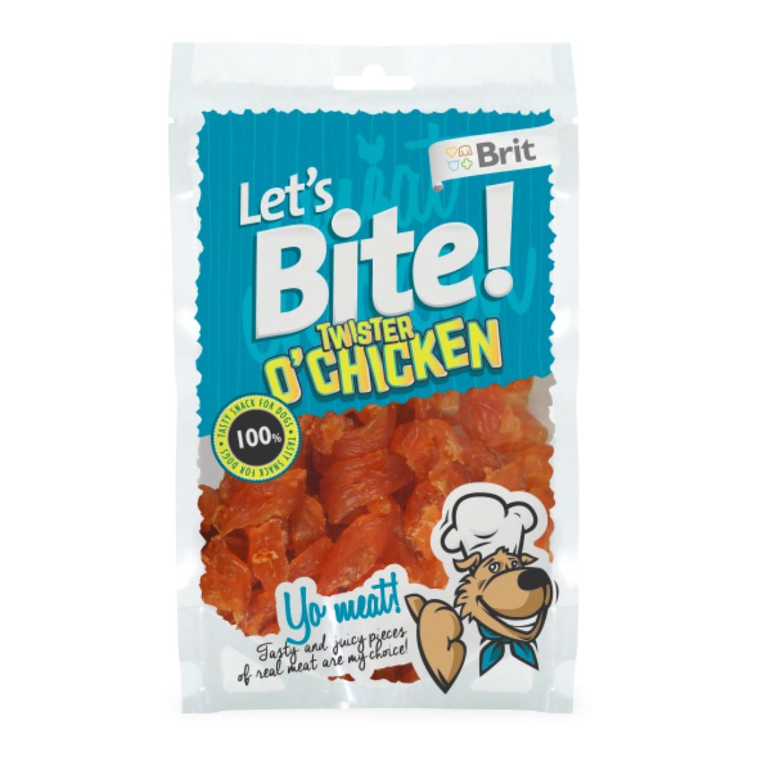 Skanėstas Brit Care Chicken Bites, vištiena, 80g