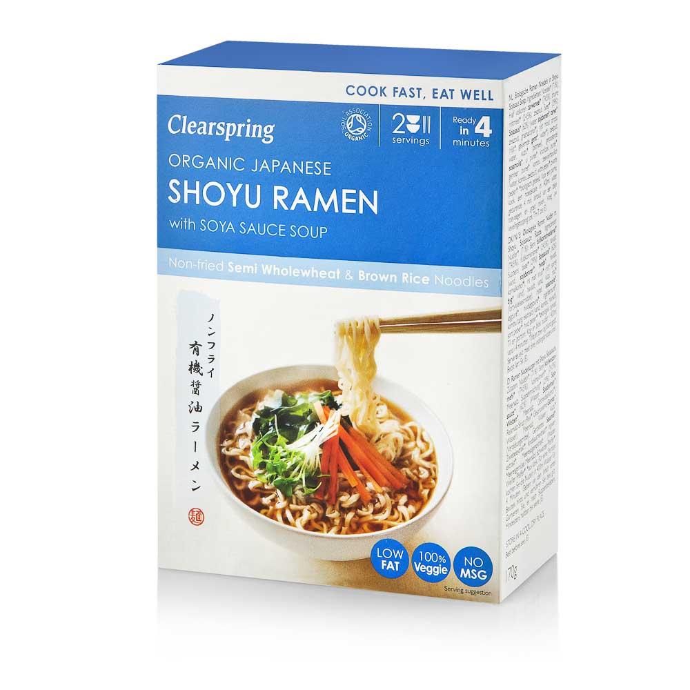 Ekologiška SHOYU RAMEN sriuba CLEARSPRING, 170g