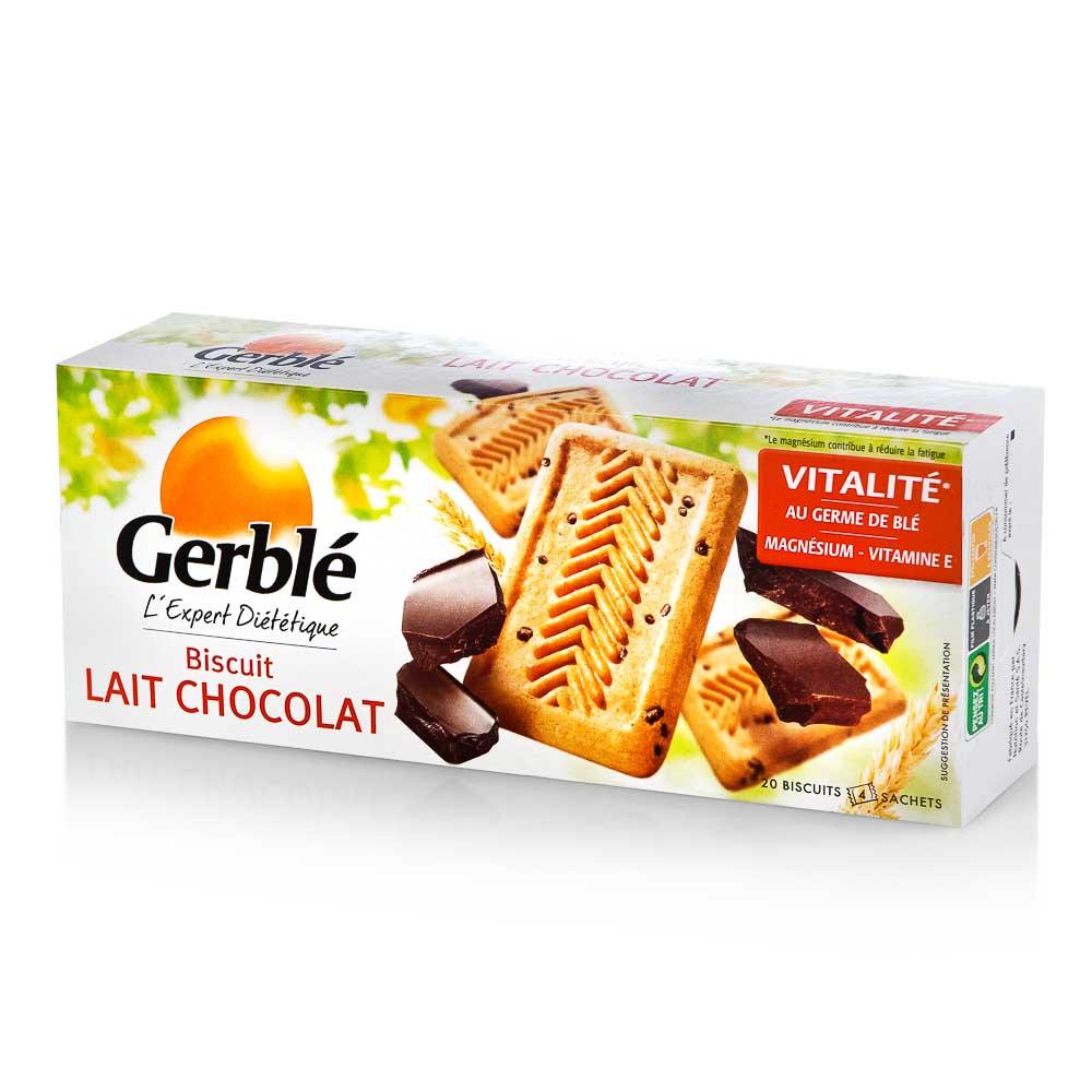 Sausainiai GERBLE su šokolado gabaliukais, 230g