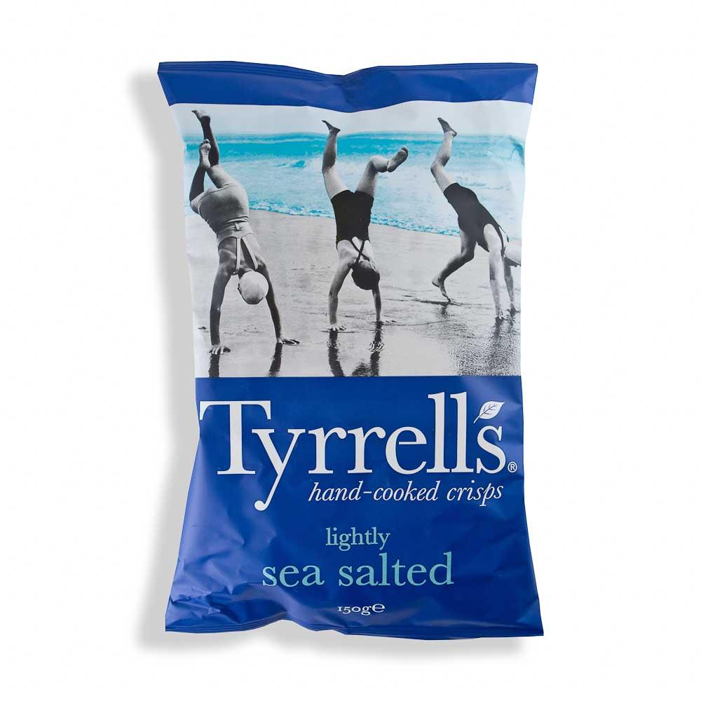 Bulvių traškučiai TYRRELLS švelniai pasūdyti 150g