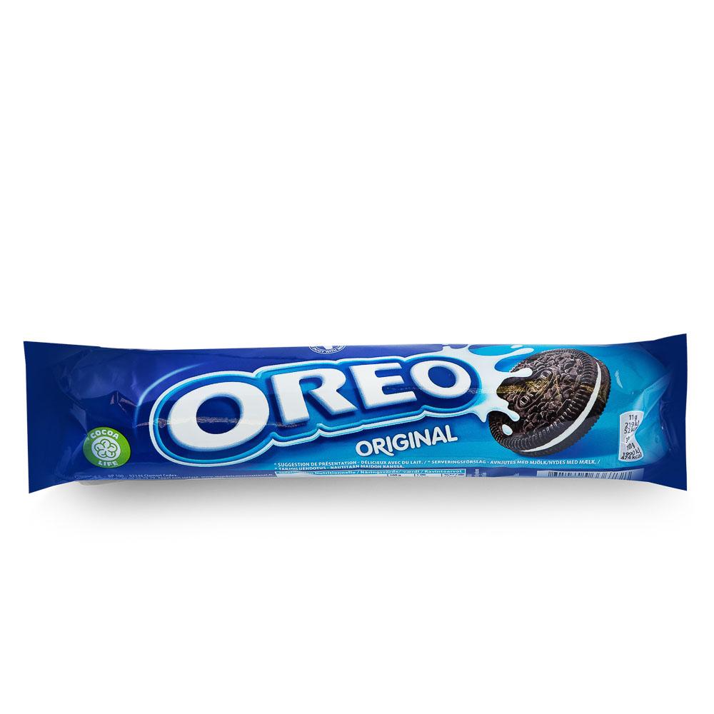 Sausainiai OREO su vaniliniu kremu, 154g