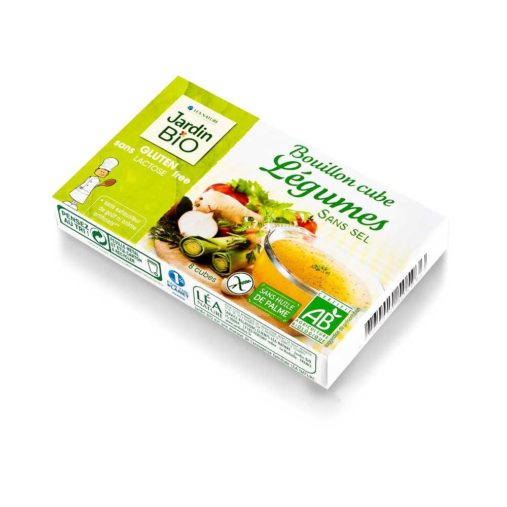 Ekologiškas daržovių sultinys kubeliais JARDIN BIO, 72 g