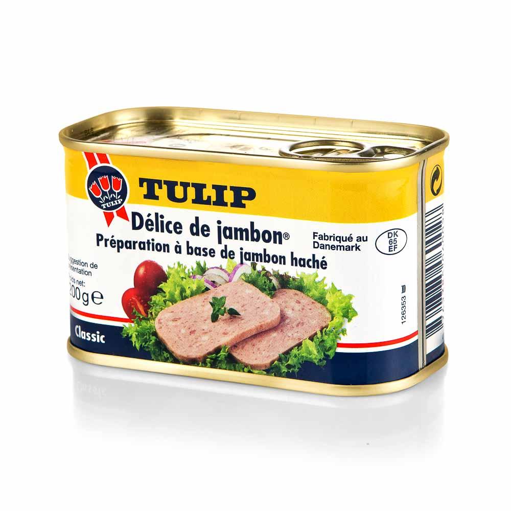 Konservuotas delikatesinis kumpis TULIP, 200 g