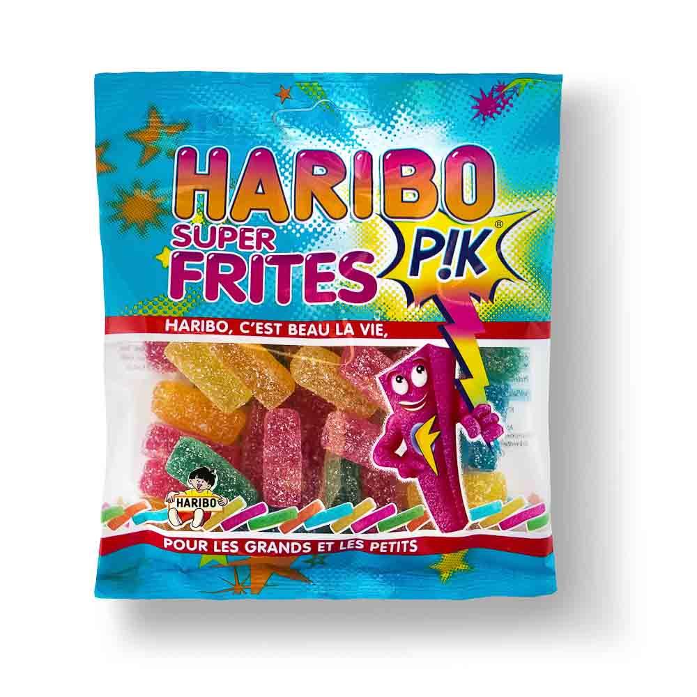 Guminukai HARIBO Super frites, 120 g